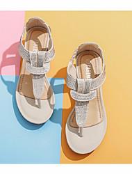 cheap -Women's Sandals Wedge Sandals Summer Wedge Heel Open Toe Daily PU Black / Brown / Beige