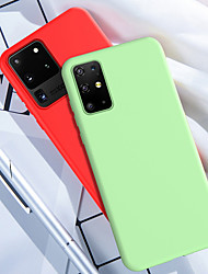 cheap -For Samsung S20 Ultra Phone Case Liquid Silicone Soft Cover for Samsung Galaxy S20 Plus S10 Plus S10e S9 Plus S8 Plus Note 10 Pro Note 9 Note 8 Case