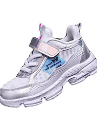 cheap -Boys' Comfort Leather Trainers / Athletic Shoes Big Kids(7years +) Walking Shoes Purple / Red / Silver Summer / Rubber