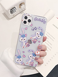 cheap -Case For Apple iPhone 11 11 Pro 11 Pro Max Melody pattern TPU material painting process scratch-resistant mobile phone case