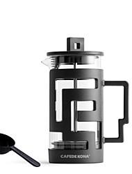 Недорогие -французский горшок давления бытовой стеклянный кофейник чайник чайник французский фильтр давления v форма носик 300-800 мл