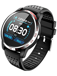 cheap -KUPENG W3 Unisex Smartwatch Android iOS Bluetooth Waterproof Heart Rate Monitor Blood Pressure Measurement Media Control Information ECG+PPG Pedometer Call Reminder Sleep Tracker Sedentary Reminder