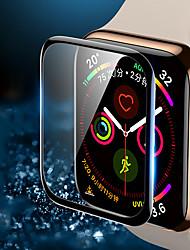 Недорогие -3 шт протектор экрана для яблочных часов серии 5/4/3/2/1 против царапин 3d защитная пленка полного покрытия из закаленного стекла