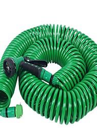 cheap -15m Eva Garden Hose Telescopic Universal Adapter Spring Tube Garden Hose Plastic Multifunctional Car Wash Spray Gun