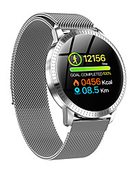 cheap -CF18 Unisex Smart Wristbands Android iOS Bluetooth Touch Screen Heart Rate Monitor Blood Pressure Measurement Calories Burned Long Standby Stopwatch Pedometer Call Reminder Activity Tracker Sleep