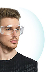 cheap -Safety Goggles Safety Glasses Eye Protection Anti-Dust&Shock Goggles Transparent Eyepiece Chemical Gafas Proteccion Glasses