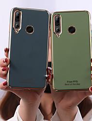 cheap -Case For Huawei Huawei P30 / Huawei P30 Pro / Huawei P30 Lite Frosted Back Cover Tile TPU