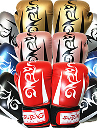 cheap -Boxing Gloves For Martial Arts Muay Thai MMA Kickboxing Durable Shock Absorption Breathable Shockproof Adults Women's Men's - Black Red Blue