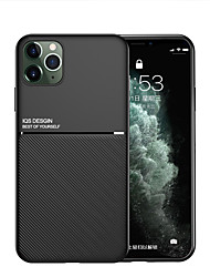 cheap -iPhone11Pro Max Mo Grain Skin With Built-in Invisible Magnetic Car Function XS Max Full Silicone Anti-fall 6/7 / 8Plus Protective Cover