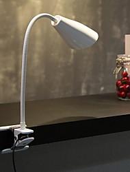 Недорогие -Настольная лампа Защите для глаз / LED Современный современный Работает от USB Назначение Спальня / Кабинет / Офис 220 Вольт Белый / Черный