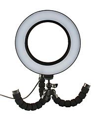 Недорогие -Фотография светодиодные селфи кольцо света 16см usb кольцо лампы затемнения видео свет для макияжа YouTube с треногой