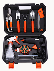 cheap -Hardware Toolbox Garden And Garden Tool Combination Set Electric Glue Gun Set Garden Flowering Tool