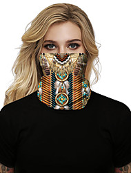 cheap -Women's Face cover Spandex Fashion Halloween Print Mask Polyester Fall Winter Spring Summer