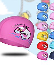 cheap -Swim Cap for Kids Nylon Breathability Soft Comfortable Swimming Watersports