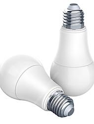 Недорогие -aqara 9w e27 2700k-6500k 806lum умный белый цвет светодиодная лампа работа с домашним комплектом и приложением Mijia