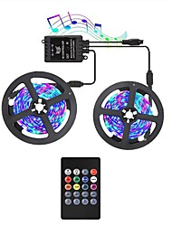 cheap -KWB LED Light Strips RGB Tiktok Lights with Music Sync-Chase Effect Dream Color Music Lights 10M 600LED 3528SMD Rope Lights with IR Remote for Home Party Bedroom DIY Party