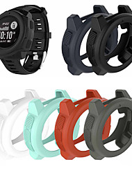 cheap -Silicone Protector Case Cover Shell For Garmin Instinct Tide / Instinct Tactical  Smart Watch