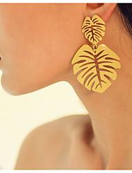 cheap -Women's Earrings Geometrical Precious Earrings Jewelry Yellow / Fuchsia / Pink For Daily
