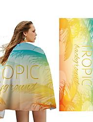 cheap -Women's Beach Towel Swimsuit Geometric Normal Swimwear Bathing Suits Yellow Orange Dusty Blue