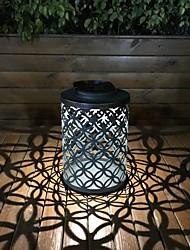 Недорогие -ретро металл солнечный утюг ветер свет деньги шаблон пустотелое освещение светодиодный ночник светодиодный фонарь украшения сада лампа европейский и американский стиль открытый водонепроницаемый 3 Вт