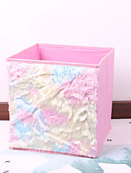 Недорогие -ткани для хранения / организаторы гардероба / настольные органайзеры прямоугольник мило / новый дизайн для дома организации хранения 1шт