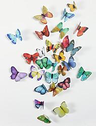 Недорогие -Животные / 3D Наклейки 3D наклейки / Наклейки для животных Декоративные наклейки на стены, PVC Украшение дома Наклейка на стену Стена / Холодильник Украшение 1шт