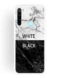 cheap -Case For Xiaomi Redmi 7/K20 Pro/K30 Ultra-thin / Frosted / Pattern Back Cover Word / Phrase / Marble TPU For Xiaomi CC9/CC9E/Note 10/Mi 10/Mi 10 Pro/9 Lite/Redmi 7A/8/8A/Note 8/Note 8T/Note 8 Pro