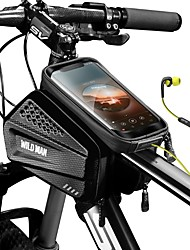 cheap -Cell Phone Bag 6.2 inch Touch Screen Waterproof Cycling for iPhone 8/7/6S/6 iPhone 8 Plus / 7 Plus / 6S Plus / 6 Plus iPhone X Black Bike / Cycling