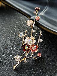 Недорогие -женские броши классическая скрепка стильная простая классическая брошь ювелирные изделия золото