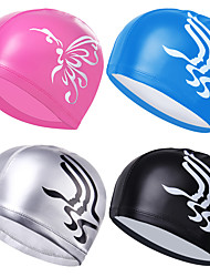 cheap -Swim Cap for Adults Silicone Waterproof Soft Stretchy Swimming Watersports