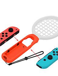 Недорогие -Комплекты игровых аксессуаров Назначение Nintendo Переключатель ,  Комплекты игровых аксессуаров ABS 4 pcs Ед. изм