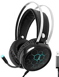 cheap -X1 Gaming Headset Surround Sound USB Wired Gamer Earphones