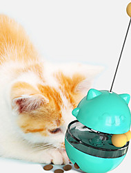 cheap -Cat Ball Tracks Ball Teaser Interactive Toy Interactive Cat Toys Fun Cat Toys Cat Focus Toy Plastic Gift Pet Toy Pet Play