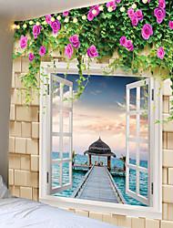Недорогие -завод цветок на камне гобелен гобелены большой размер гобелены дешевые хиппи бохо гобелен ткань мандалы