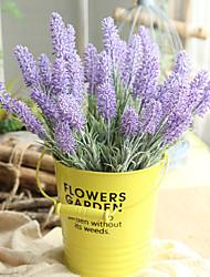 cheap -33cm Artificial Flower Lavender Home Decoration Wedding 1 stick