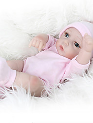 cheap -NPKCOLLECTION NPK DOLL Reborn Doll Baby 12 inch Full Body Silicone Silicone Vinyl - lifelike Cute Hand Made Child Safe Non Toxic Lovely Kid's Boys' / Girls' Toy Gift / Parent-Child Interaction