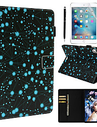 Недорогие -кейс&усилитель; Стилус&усилитель; 1 шт. Защита экрана для Apple Ipad Pro 11'2018 / новый воздух (2019) / 10,5 с подставкой / флип / ультратонкий задняя крышка Sky Pu кожа