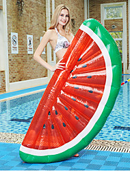 cheap -Watermelon Inflatable Pool Floats PVC Quick Dry Inflatable Durable Swimming Water Sports for Adults Kids 183*79*20 cm