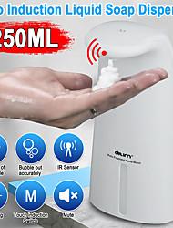 Недорогие -250 мл автоматический дозатор мыла пены настенный дозатор мыла автоматический дозатор мыла бесконтактный abs hands free
