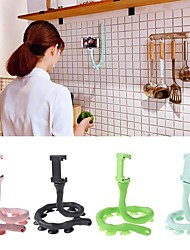 cheap -Cute Caterpillar Lazy Bracket Mobile Phone Holder Worm Flexible Phone Suction Cup Stand For Home Wall Desktop Bicycle