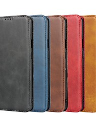 cheap -Case For One plus 8 Pro /One plus 7T Pro / One plus 6T  Wallet / Card Holder / Shockproof Full Body Cases Solid Colored Genuine Leather For  Oneplus 8 / Oneplus 7 Pro / Oneplus 6 / Oneplus 7T