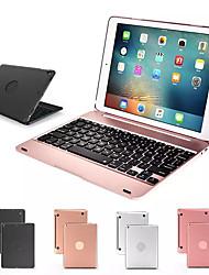 Недорогие -клавиатура чехол для apple ipad 9.7 для ipad 5 6 pro 9.7 беспроводная клавиатура bluetooth чехол для ipad air стенда оболочки