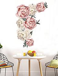 cheap -Landscape / Floral / Botanical Wall Stickers Plane Wall Stickers Decorative Wall Stickers, PVC Home Decoration Wall Decal Wall / Window Decoration 1pc 66*45.5cm