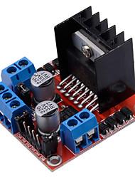 Недорогие -Модуль драйвера двигателя L298N двойной мост мост шаговый двигатель постоянного тока подходит для Arduino