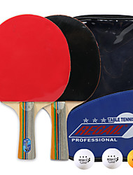 cheap -Ping Pong Paddle Set with Balls Indoor Table Tennis Wearproof Durable 1 set 2 * Ping Pong Paddles 3 *Ping Pong Balls Sports