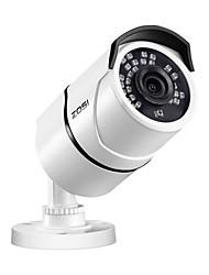Недорогие -ZOSI 1/3 дюйма КМОП Инфракрасная камера / Водонепроницаемый / Цилиндрические камера H.264 + / H.265 IP67