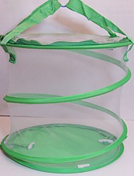 cheap -Large Folding Butterfly Cage-Insect Cage Insect Watch Net Feeding Bucket Mosquito Box Insect Net Collecting Tool