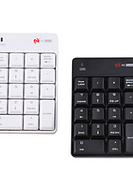 Недорогие -мини беспроводная 2.4 ГГц цифровая клавиатура 18 клавиш клавиатуры Bluetooth для ПК