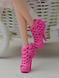 Недорогие -11-дюймовые куклы обувь и туфли на высоких каблуках ювелирных аксессуаров моды фантазии детская одеваются игрушки пункт е