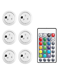 cheap -6PCS 3 Led Remote Controlled RGB Submersible Light Underwater Night Lamp Battery Operated Outdoor Vase Garden Party Decoration